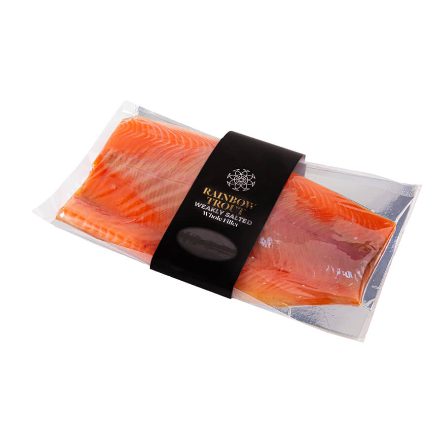 Rainbow trout Weakly salted Whole fillet